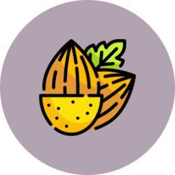 Icono cultivos de frutos secos