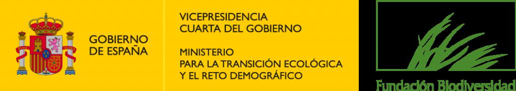 Logo Ministerio y Fundación Biodiversidad